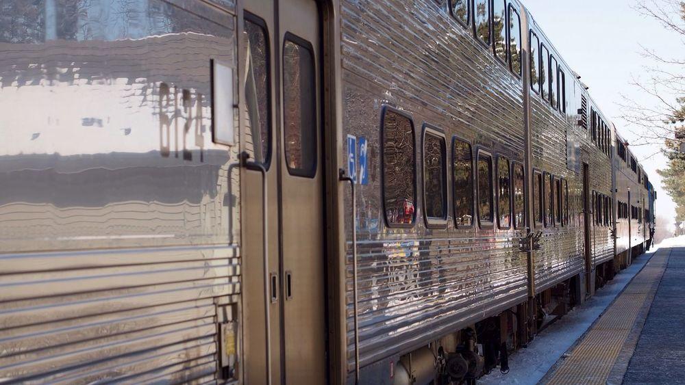 Morning Commute Bradleywarren Photography Bradley Olson Train Commuting Railroad Commuter Train