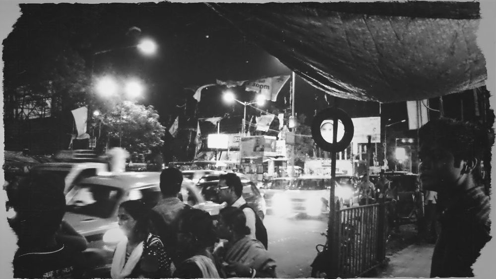 Black And White Street Photography Urban Night Vision
