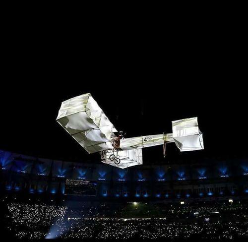 "Santos Dumont- ""O Homem que deu asas ao mundo! Santos Dumont - The man gave wings to the world! Check This Out Hello World Santos Dumont 14bis Airplane Rio2016olympics Rio2016 Brazil"