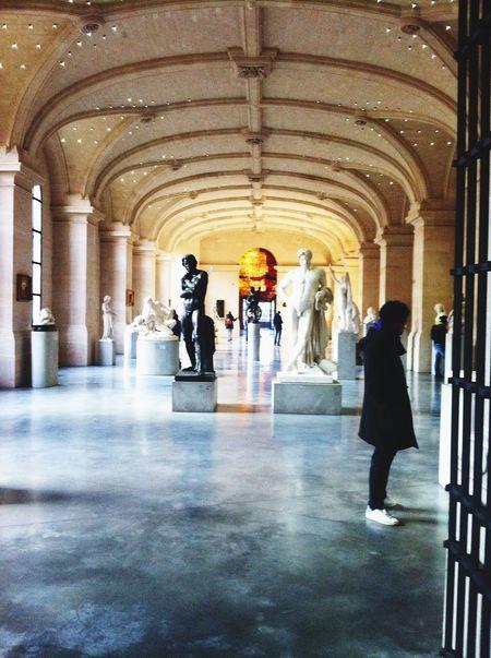 Museum Art Sculpture Beauxarts Man