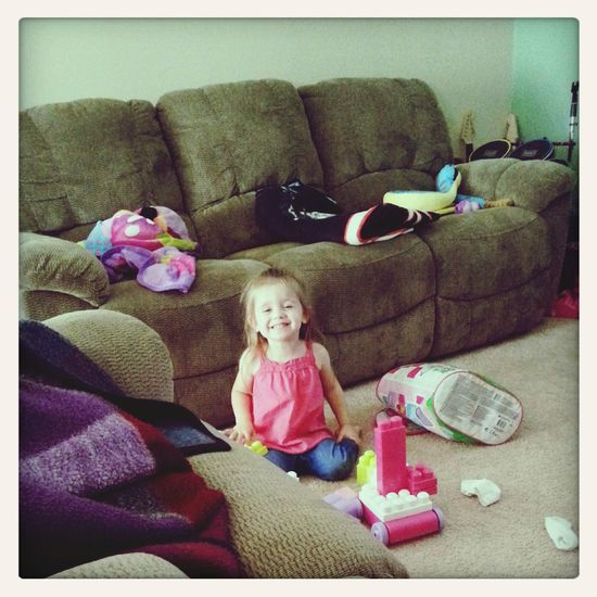 My little sister :) Cheese Happy