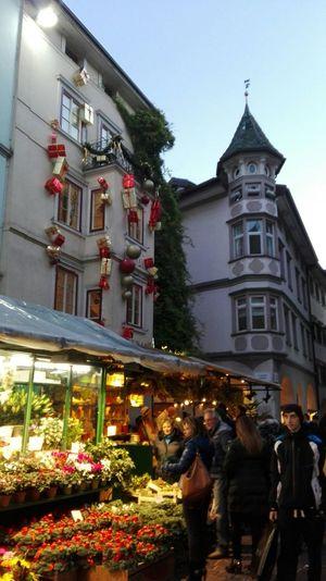 Seeing The Sights Hello World Trentino Alto Adige Südtirol Bolzano - Bozen Christmas Lights Mercatino Di Natale Streetphotography Architecture_collection I Love Bolzano -bozen