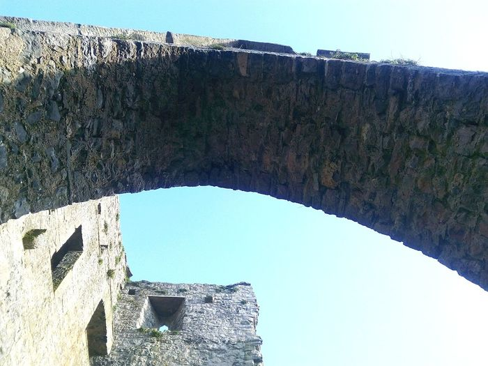 Arches Kilkenny Kells Summer Monastic Stone Blue Sky