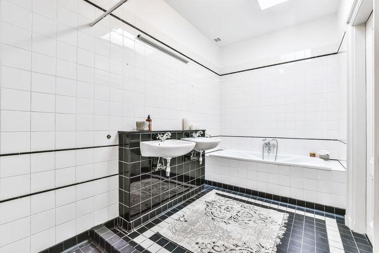 View of people in bathroom