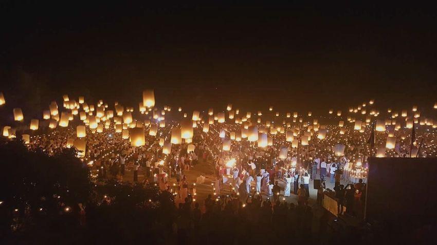 Fire Balloon Candlelight Festival Of Lights First Eyeem Photo