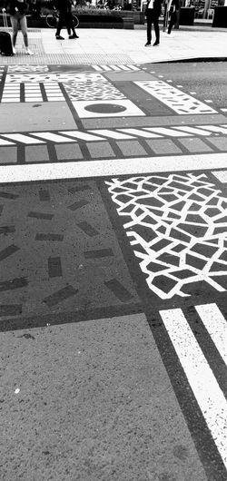 crossings Photowalktheworld Oneplus6 Low Section Men Women Human Leg Road Walking Street Pedestrian Zebra Crossing Road Marking Pedestrian Crossing Sign Empty Road Bicycle Lane Asphalt Crossing Crosswalk