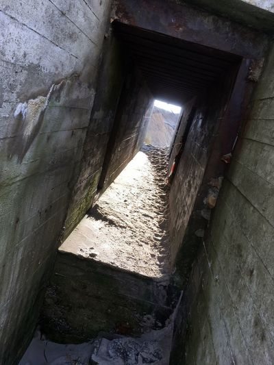 WWII bunker on