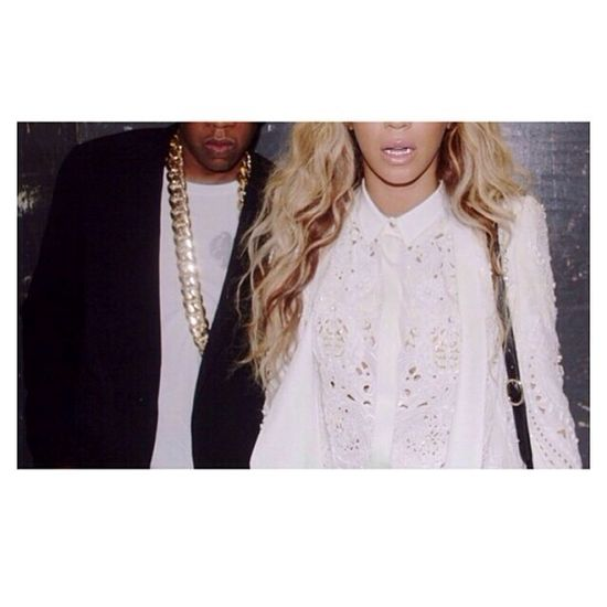 Queen B & King Jay Z Beyonce Jay-Z  Love Couple