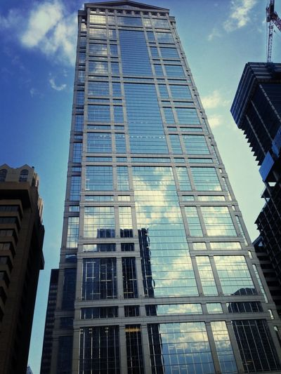 Magnificent Mile Chicago Cityscapes Urban Reflections Reflection