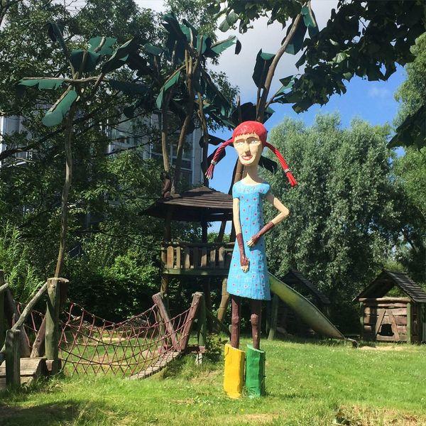 Bremerhaven Pippilangstrumpf Pippi Longstocking Spielplatz Playground