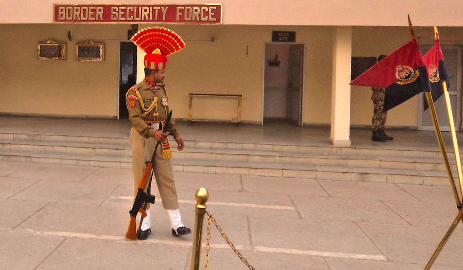 Army Beautifully Organized Border Border Security Force Dress Flag Gun India Indian Indian Army Military Perfect Security Shoes Wagahborder