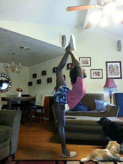 Look at that ass tho LMFAOOO #thatass #sexy #me #flexible