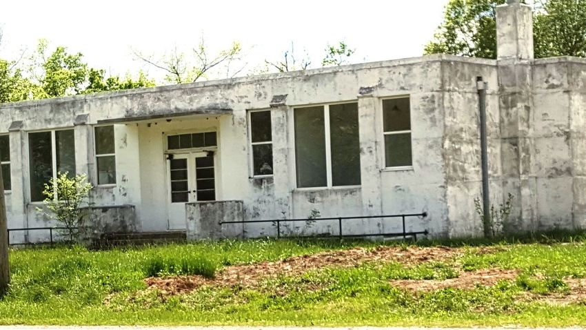 Building Exterior Architecture Rural Scene Old School House One Room Schoolhouse