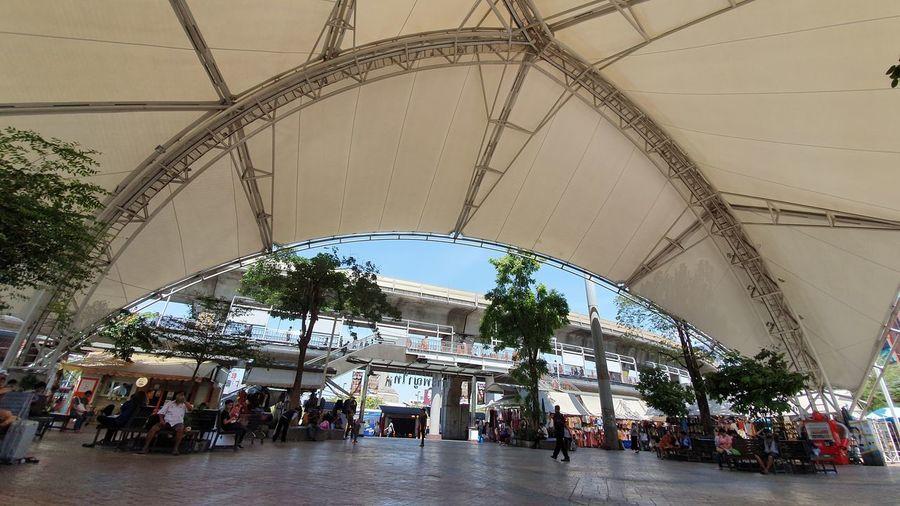 Commute City Modern Arch Architecture Sky Built Structure Pavilion