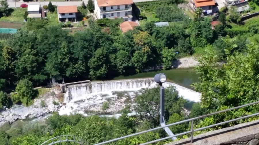 Sacro Monte di Varallo No Filter Vista Dall'alto Sacro Monte Di Varallo Varallo Piemonte Italy Plant Water Tree Built Structure Architecture Day Nature Green Color Growth Motion Flowing Water High Angle View Outdoors Building Exterior Beauty In Nature Waterfall Scenics - Nature Sunlight Flowing