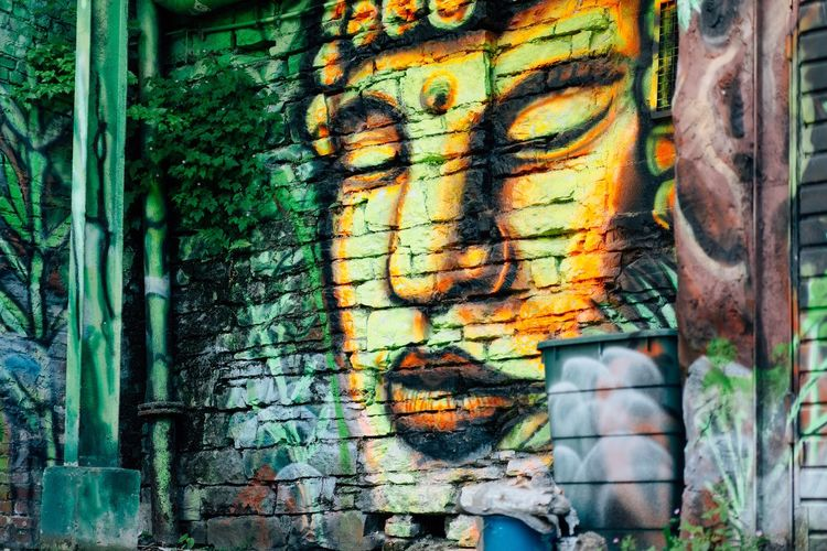 Graffiti Graffiti Art And Craft Creativity Graffiti Multi Colored Built Structure Architecture Wall - Building Feature Backgrounds Textured  Paint Wall Outdoors