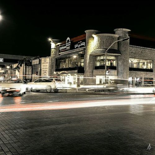 جدة ممشى شارع فلسطين 🗾 Jeddah Ff Good HTC شارع_فلسطين_جده مطعم  مطعم_رمسيس جدة