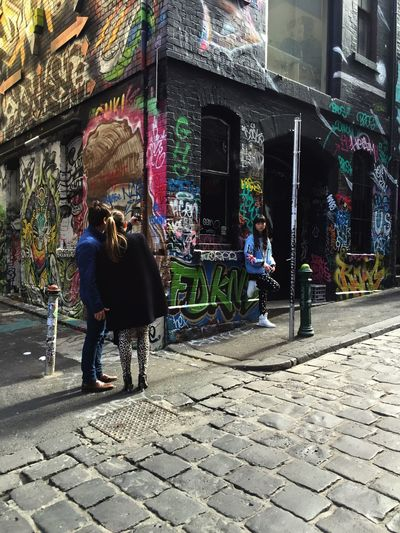 Feel The Journey Graffiti Melbourne Australia Space Art Cool Outdoors Family Life City Photgraphy