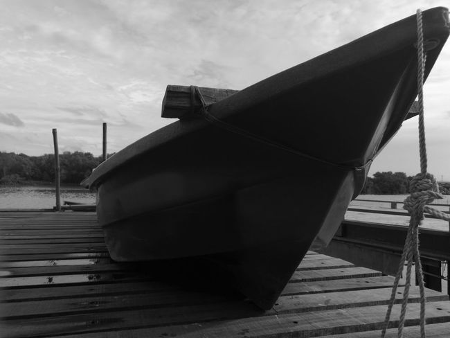 Built Structure No People Architecture Day Outdoors Sky Boat Bridge Port Mangrove Life Mangroves Forest Waterfront View Thailand Travel Bw EyeEmNewHere Blackandwhite Beauty In Nature Water Low Section Landscape Fishing Boat Fishing Village