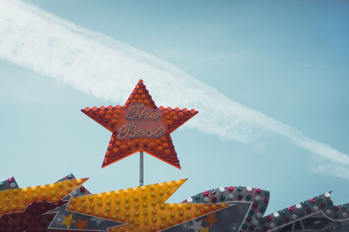 Fun Park Star Text The Street Photographer - 2017 EyeEm Awards BYOPaper! The Architect - 2017 EyeEm Awards Live For The Story Front View Lights Lighting Equipment Outdoors Sky Day No People The Best The Week On EyeEm Editor's Picks