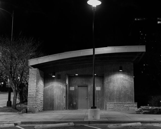 Jordan Valley Park Springfield Springfieldmo Springfield, MO Blackandwhite Bw Bw_collection BW_photography Bw_lover Bwphotography Bw_society Architecture Architecture_collection Public Places Illuminated No People Outdoors Architecture Built Structure