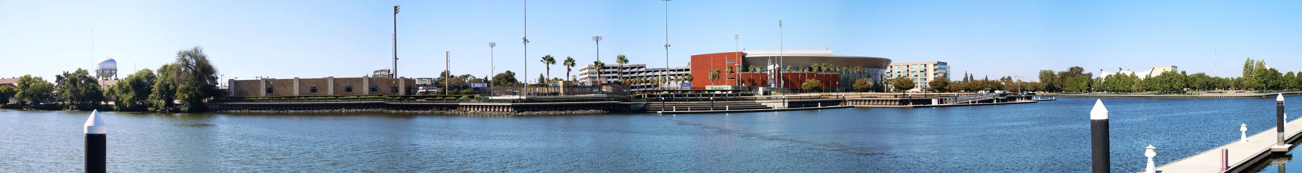 Panorama Downtown Stockton