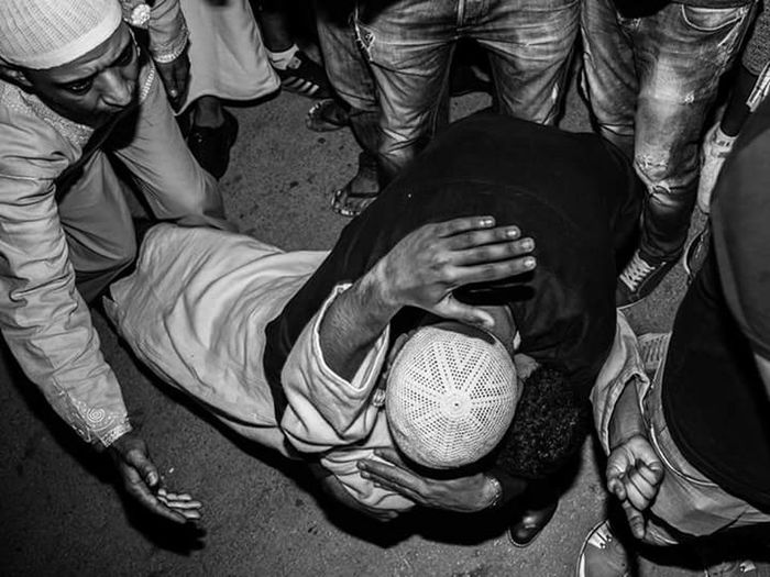 The Photojournalist - 2017 EyeEm Awards Photography People Sufism Sufi Sufisoul Night Low Section Human Body Part Photojournalism Streetphotography Tunisia