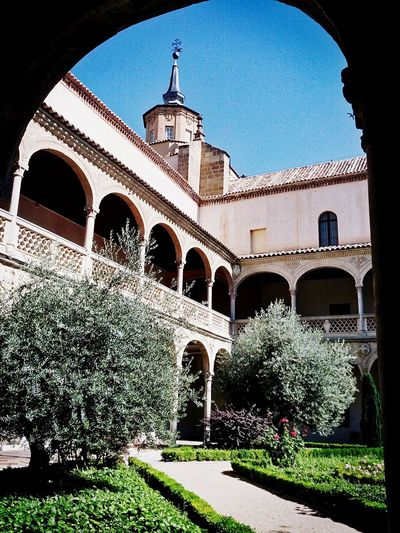 Toledo Spain Built Structure Architecture Travel Destinations Arch Clear Sky No People History Sky Tranquility Tranquil Scene Travel Architecture Arts Culture And Entertainment Cultures