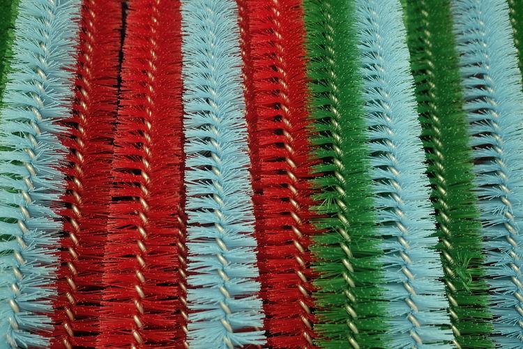 Full frame shot of brushes