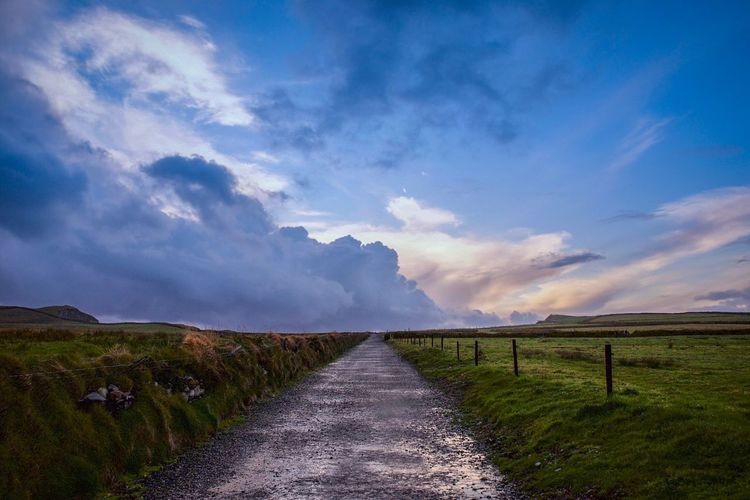 Cloud - Sky The Way Forward Outdoors Scenics Landscape Beauty In Nature Nature Sky No People Day Mountain Portmagee Ireland Wild Atlantic Way Ring Of Kerry