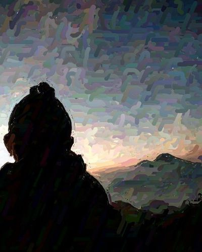 Mencoba tehnik paint moga berkenan Arteurope ArtWork Artindonesia Artpaint Painteditmyself Paint Bestartistever Lukisan Artword Art Artist Artistic Abstract Abstractart Absurd A Panorama Landscape Indonesian Indonesiaart Instaeurope Photooftheday Igers IGDaily Paint bestartfeatures praumountain siluet