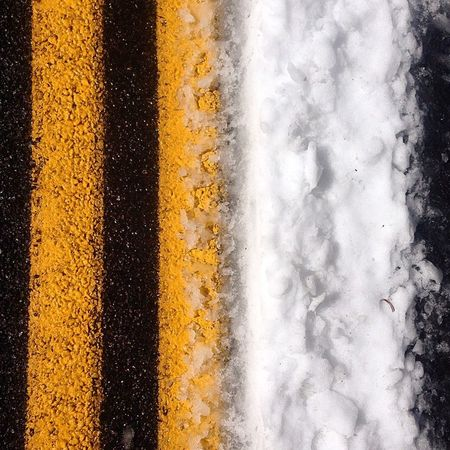 Road wars... Roadtrip Road Roadwars ROADWARRIOR Stripes Snow Livelife Lovelife Onfoot