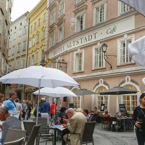 Salzburg Oldtownsquare Beautiful AwesomeDay