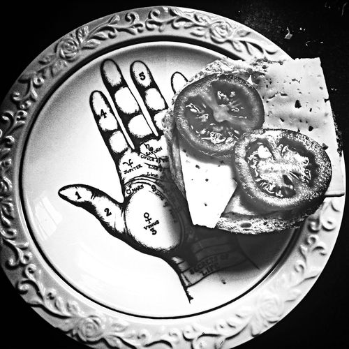 Black And White Food for me! Artsy Fartsy
