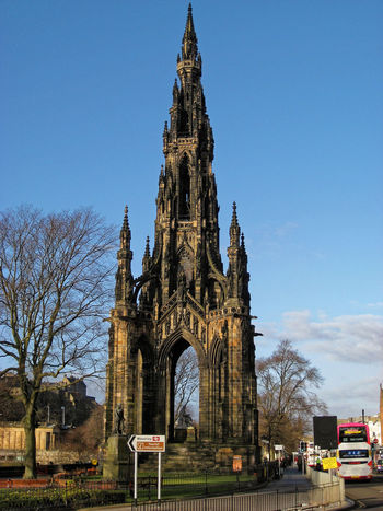 Scott Monument City Life City Street Cityscapes Monument Scotland Scott Monument