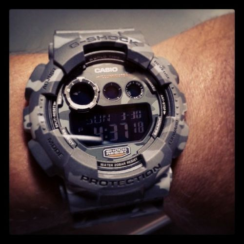 This baby being deployed today!! Gshock Gd120 Gd120cm