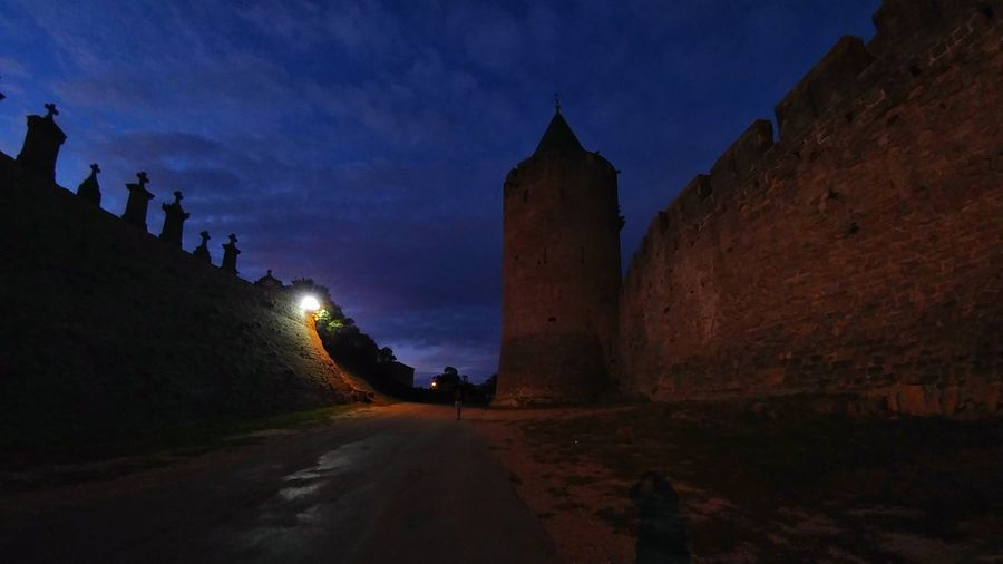 Outdoors Sky Water Star - Space Ancient Civilization Travel Destinations No People Galaxy Astronomy Arrival Architecture History Old Ruin Night Castle Architecture Occitanie France