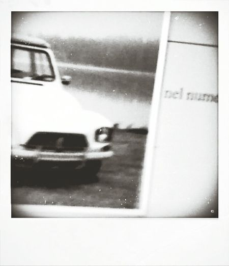Dyane Citroen Polaroid