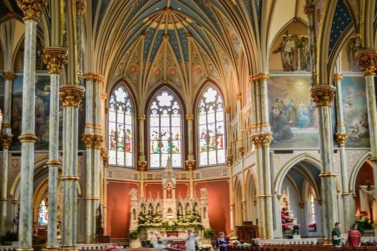 St. John The Baptist Cathedral Savannah Savannah Cathedral Church