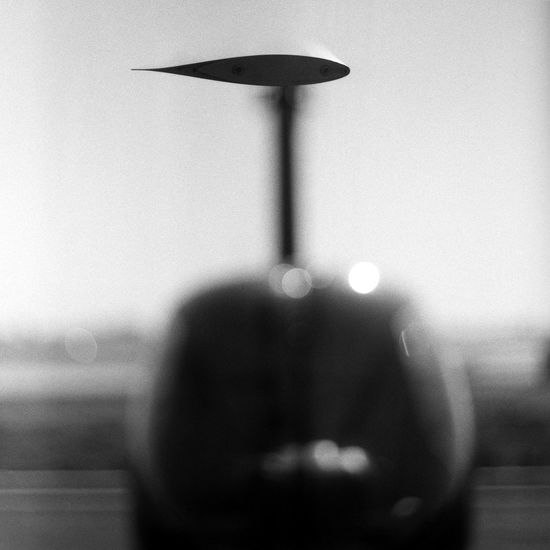 Transportation: Helicopter Black And White Photography Clear Sky Day Flying Helicopter Propeller Shallow Depth Of Field Shallow DOF Sky Transportation