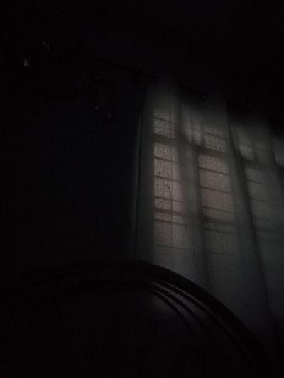 Curtain Silhouette Darkness Dim Light Sadness Sad & Lonely Lonely Shadow Darkroom Dark Room