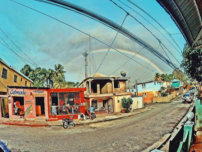 Dominican Republic Santo Domingo Rainbow Barrio Sancristobal Rainy Days Check This Out Photography Photo Ilivewhereyouvacation Travel Travelphotography