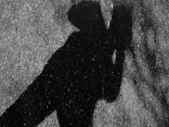 Men Shadow Road
