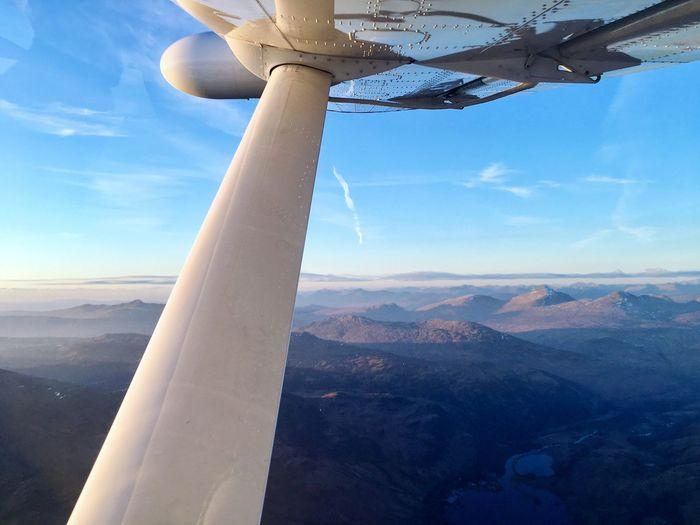 First Eyeem Photo Seaplane Scottish Highlands Scotland Takenwithaniphone Fog Sunscape
