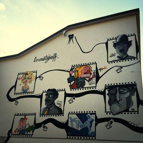 Streetart cinema