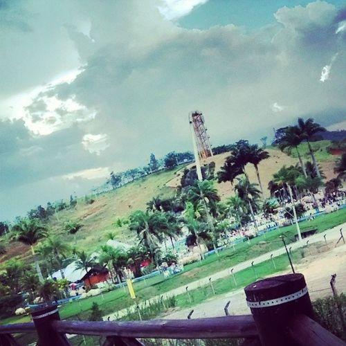 O que teve pra tarde *--* Parqueaquatico Resort Aldeiadasaguas Lazer
