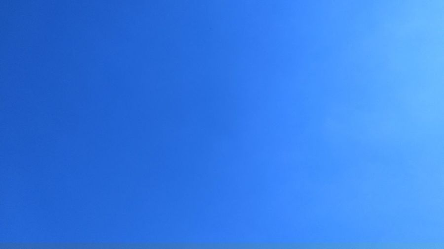 The sky on a