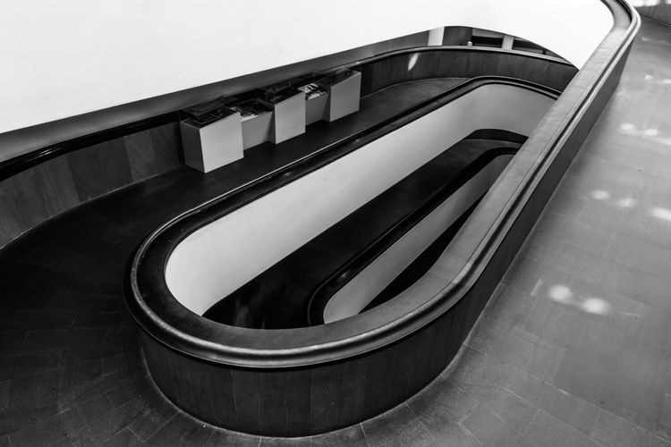 Built Structure Architecture Staircase Steps And Staircases Railing No People Building Exterior High Angle View Building Absence Modern Day Outdoors Pattern Empty Spiral Nature Escalator Stairs Stairway stairways Stair Winding Steps Steps And Staircase Steps And Stairs