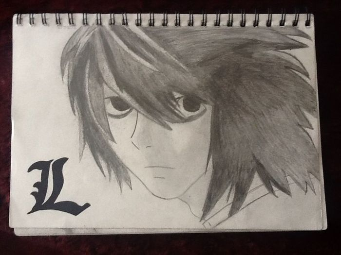 """""""L"""" 4rm Death Note"""