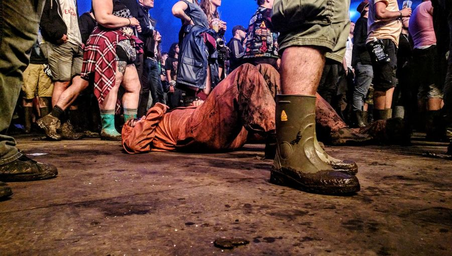 Music Festival WackenOpenAir2016 Surface Level Mud Low Section Concert